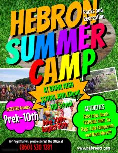 hebron summer camp 1