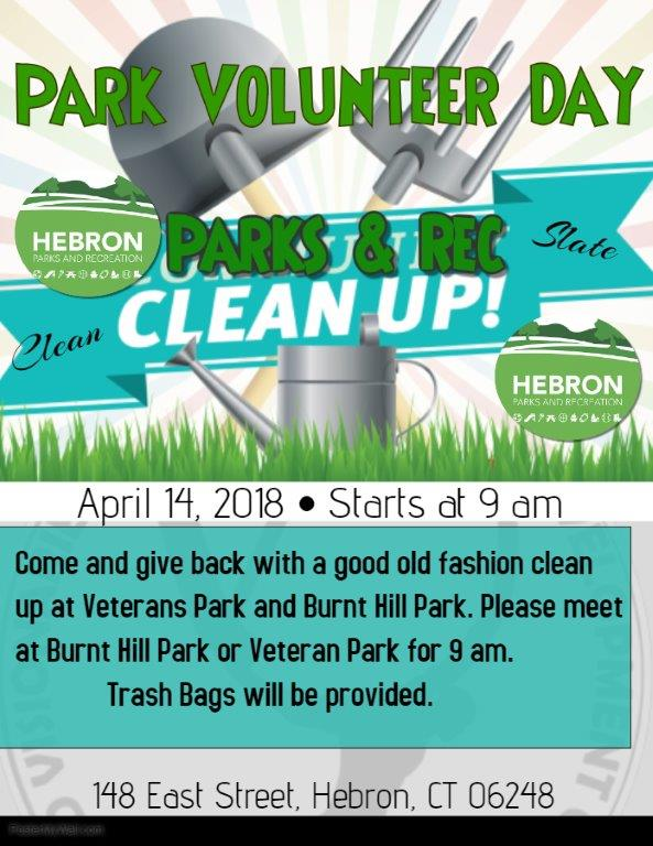park clean up | Town of Hebron