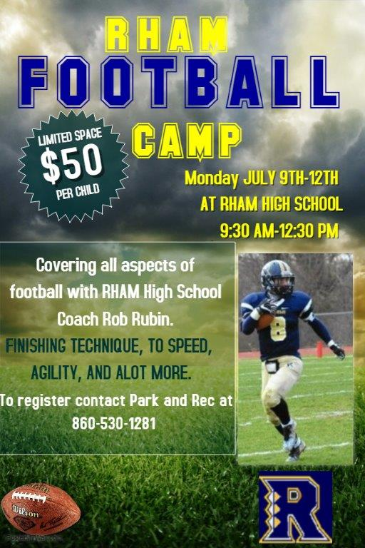 copy of football training camp flyer template  u2013 made with