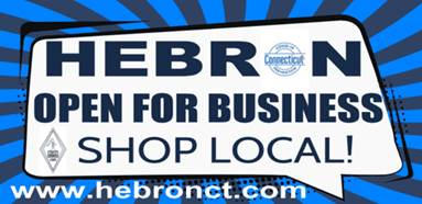 Hebron is Open for Business - Shop Local!